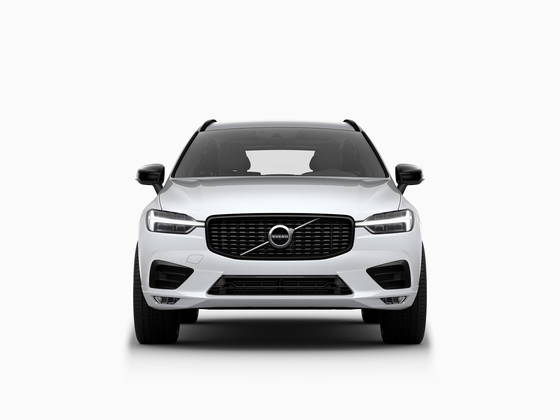 Die Frontansicht des Volvo XC60.