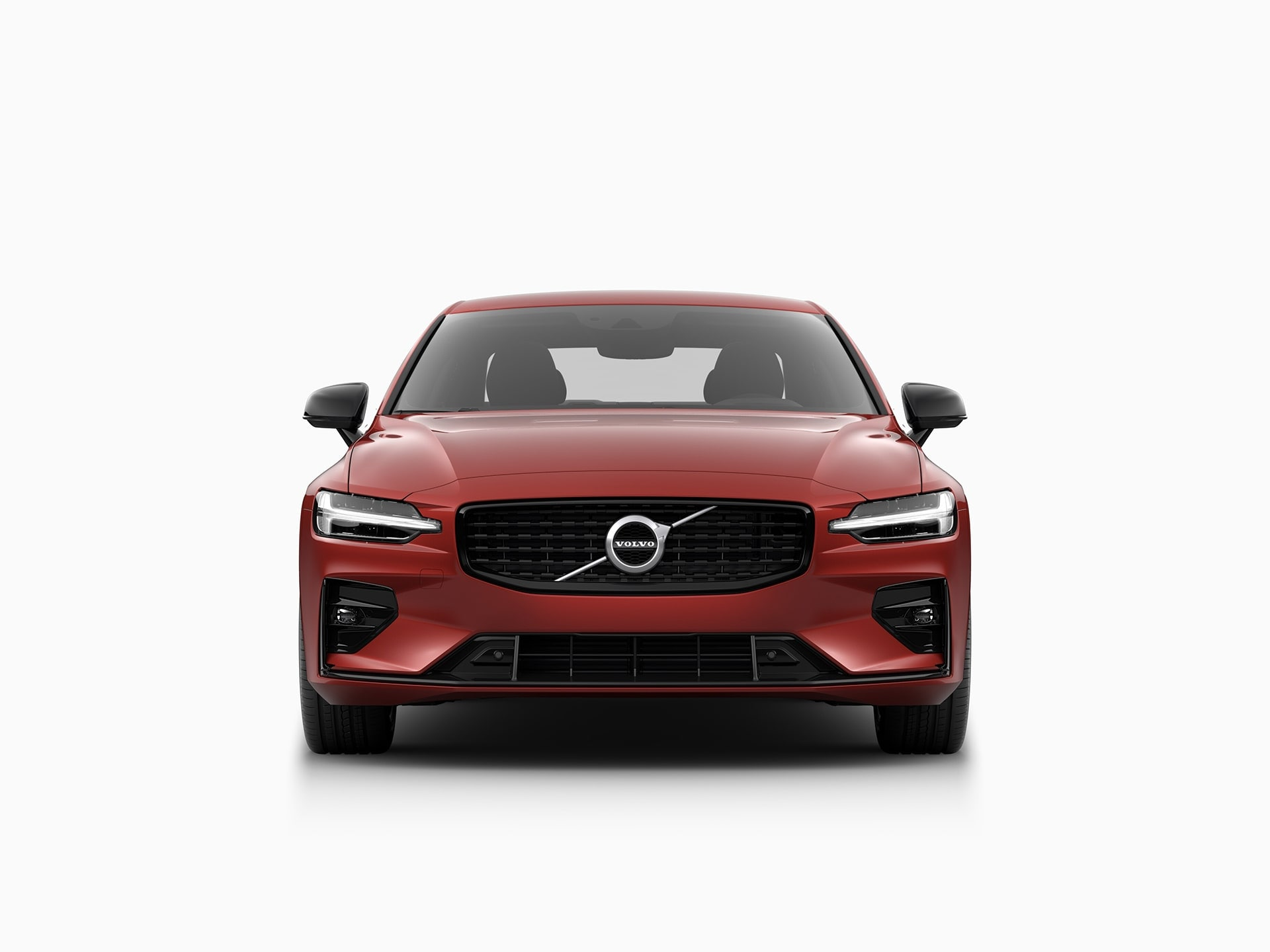 En Volvo S60 Sedan set forfra.