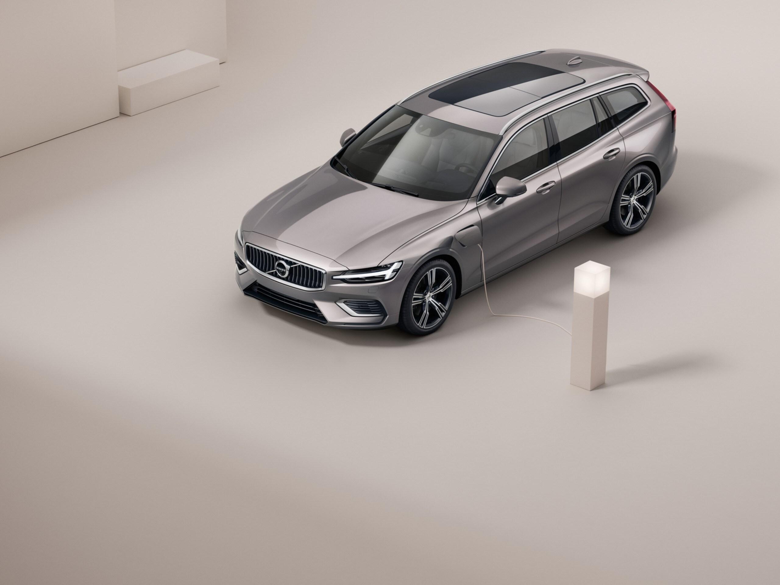 Coche familiar hibrido Volvo V60 oferta