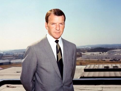 Pehr G. Gyllenhammar, a Volvo Cars vezérigazgatója 1971 és 1983 között.