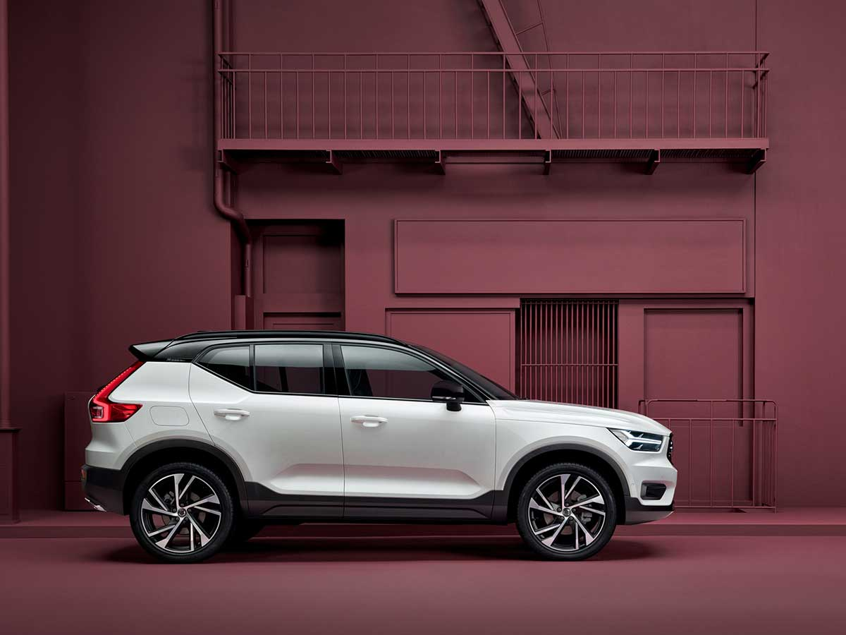 A Volvo XC40, our first compact SUV.