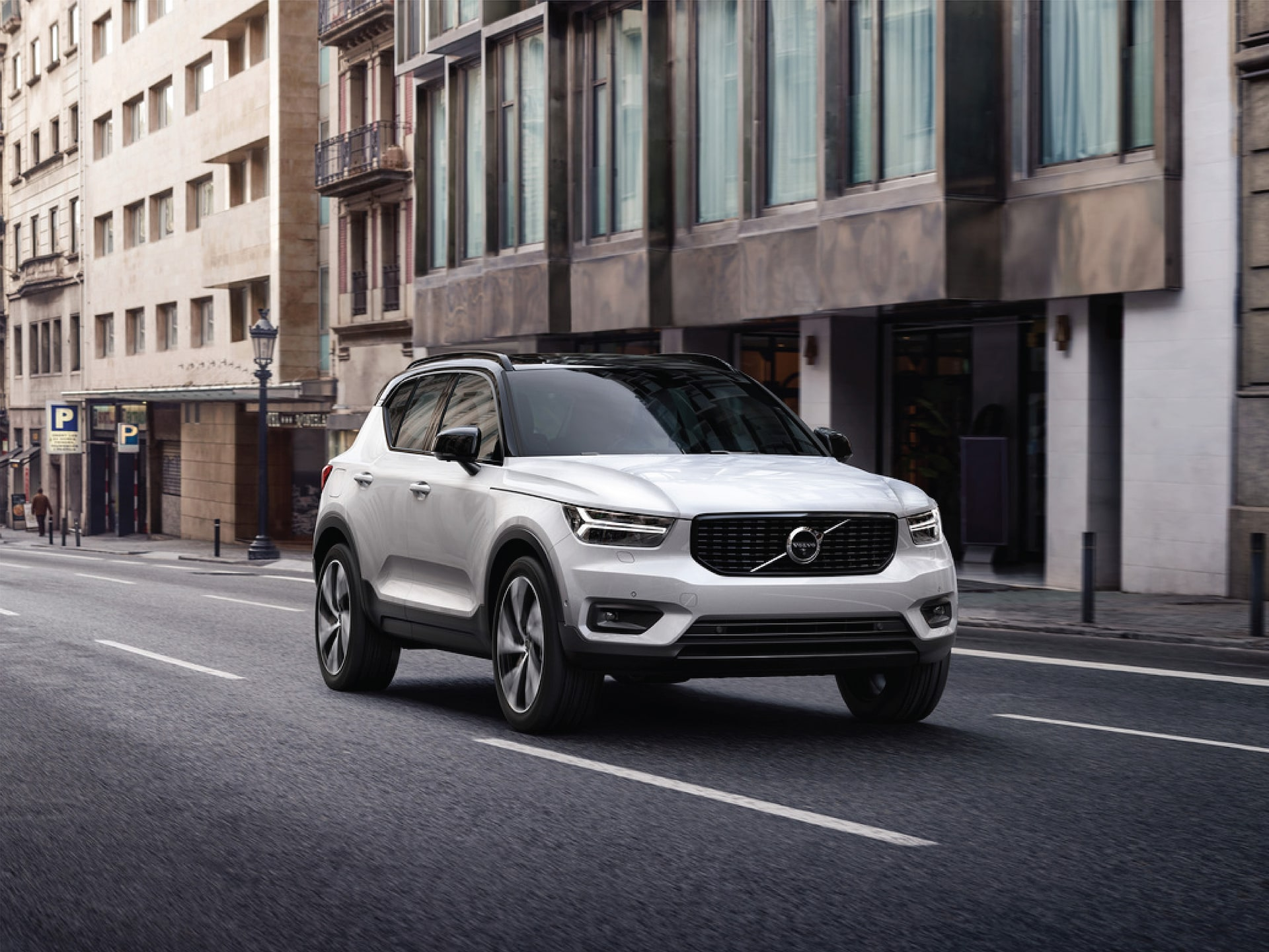 THE SUV BUILT FOR URBAN LIFE. The Volvo XC40.
