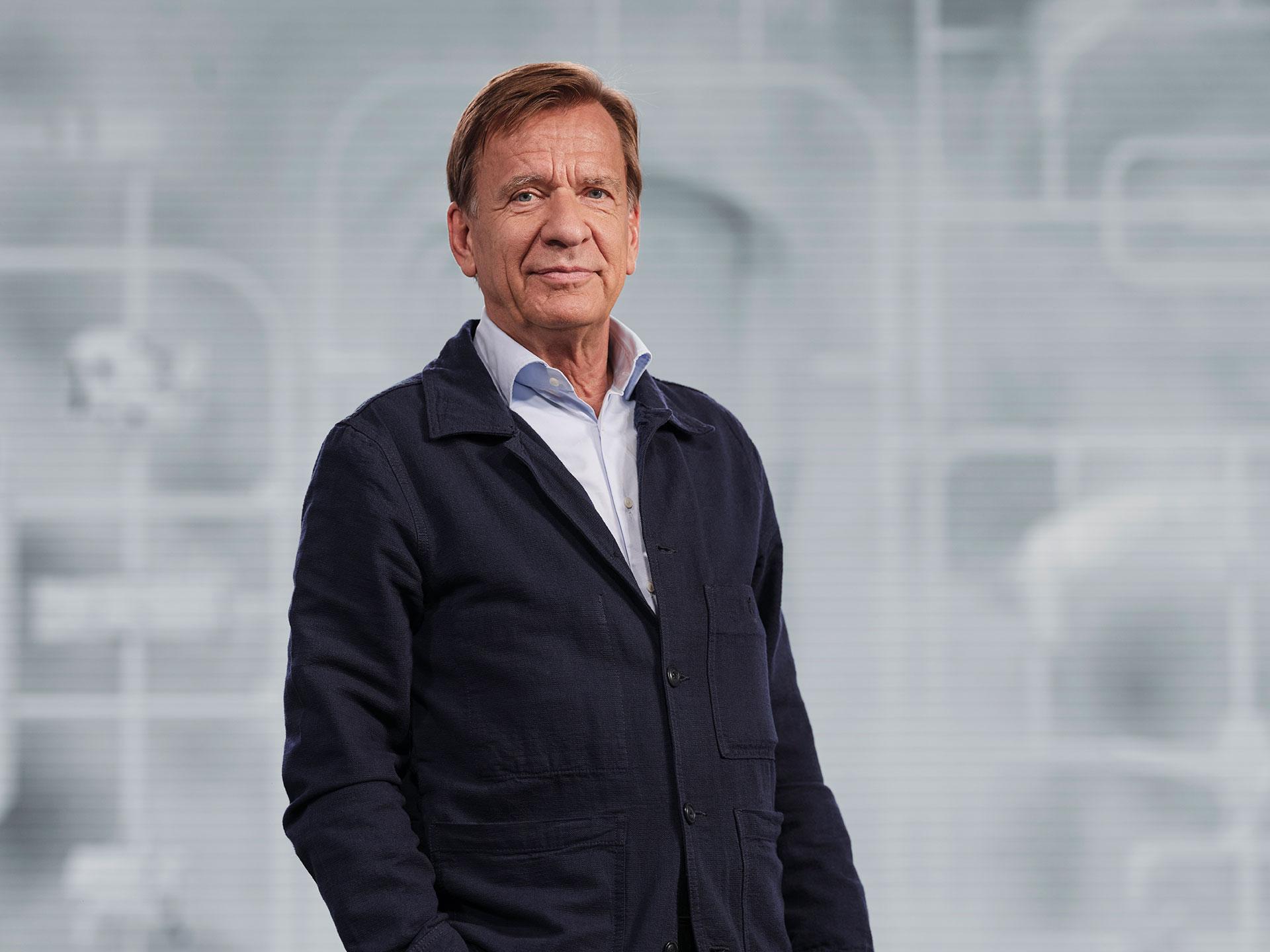 Håkan Samuelsson, chief executive Volvo tech moment 2021.