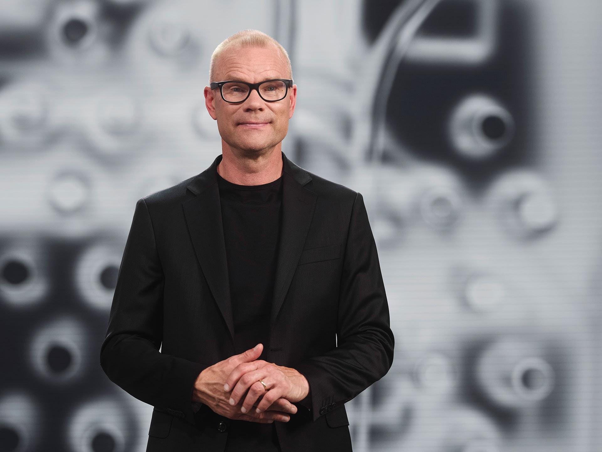 Patrik Bengtsson, head of software and electronics platform Volvo tech moment 2021.