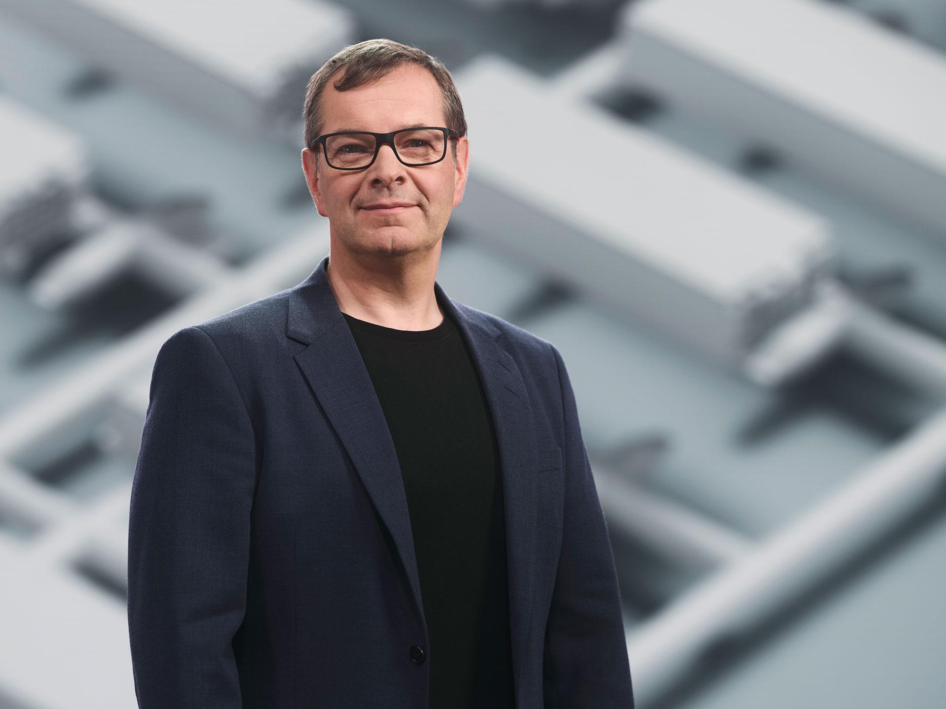 Lutz Stiegler, leader in vehicle propulsion Volvo tech moment 2021.