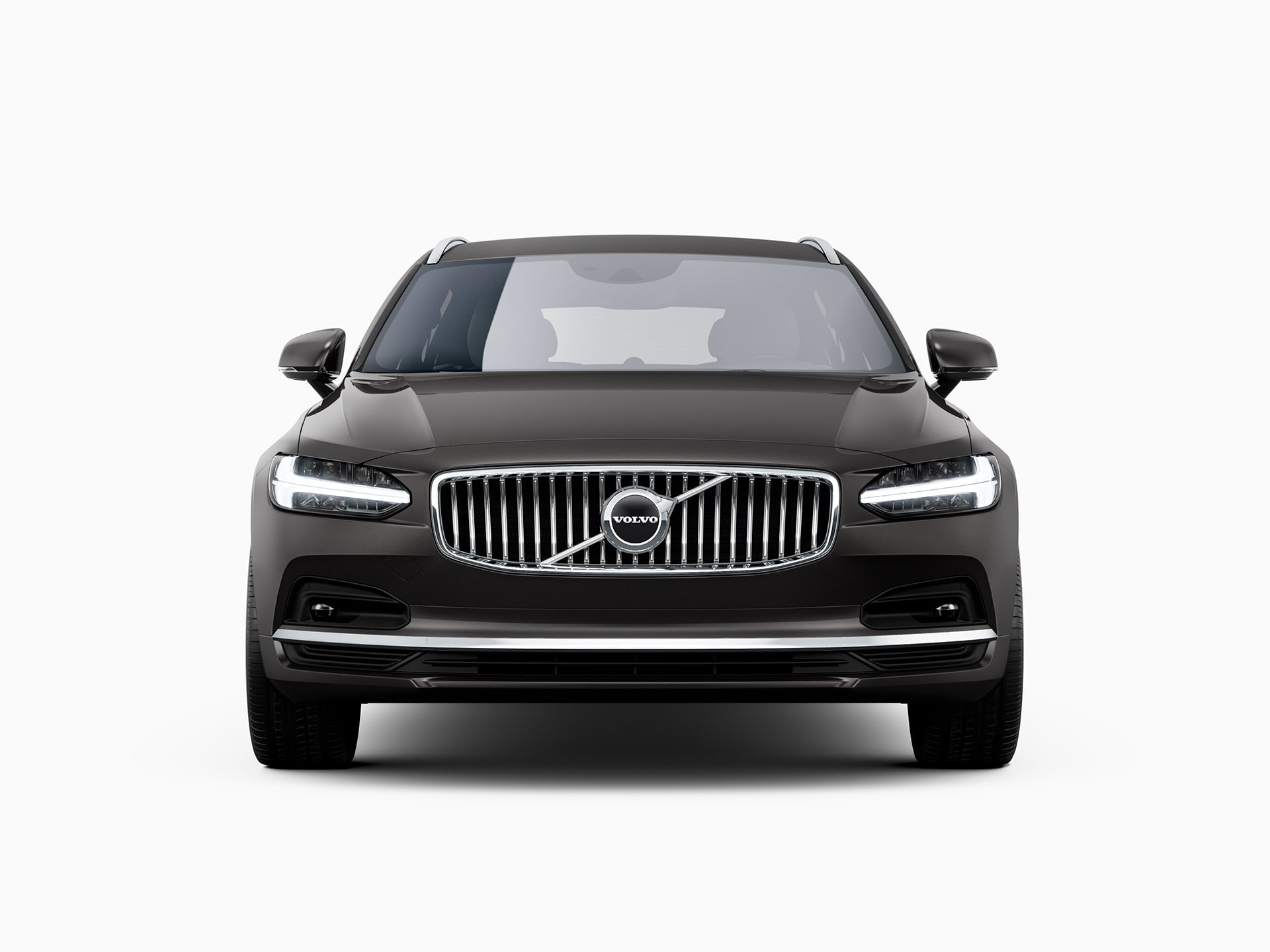 The front of a Volvo V90.