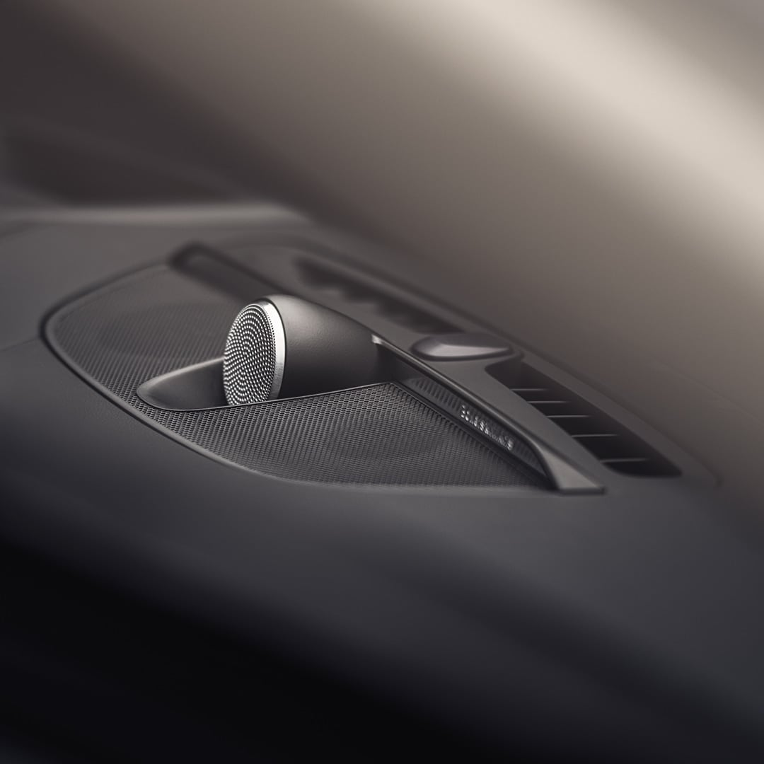 Bowers & Wilkins-luidsprekers in een Volvo V60