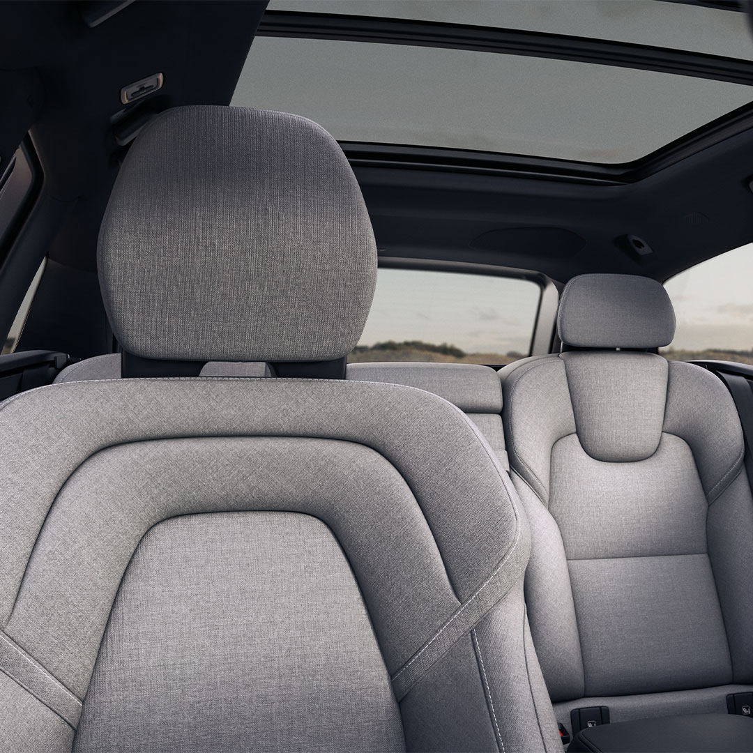 The rear exterior of a Volvo V90.