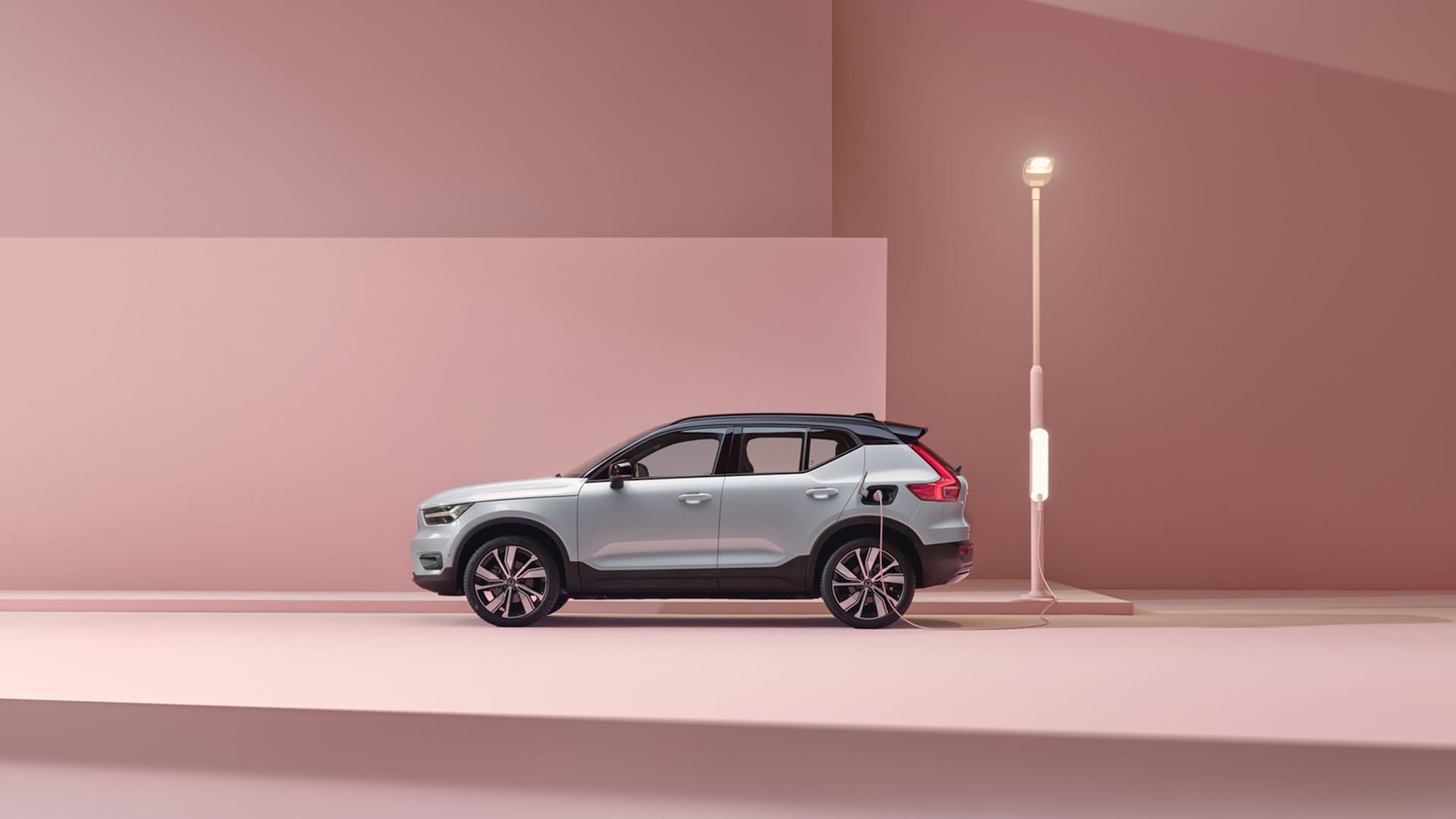 The XC40 Recharge Pure Electric.