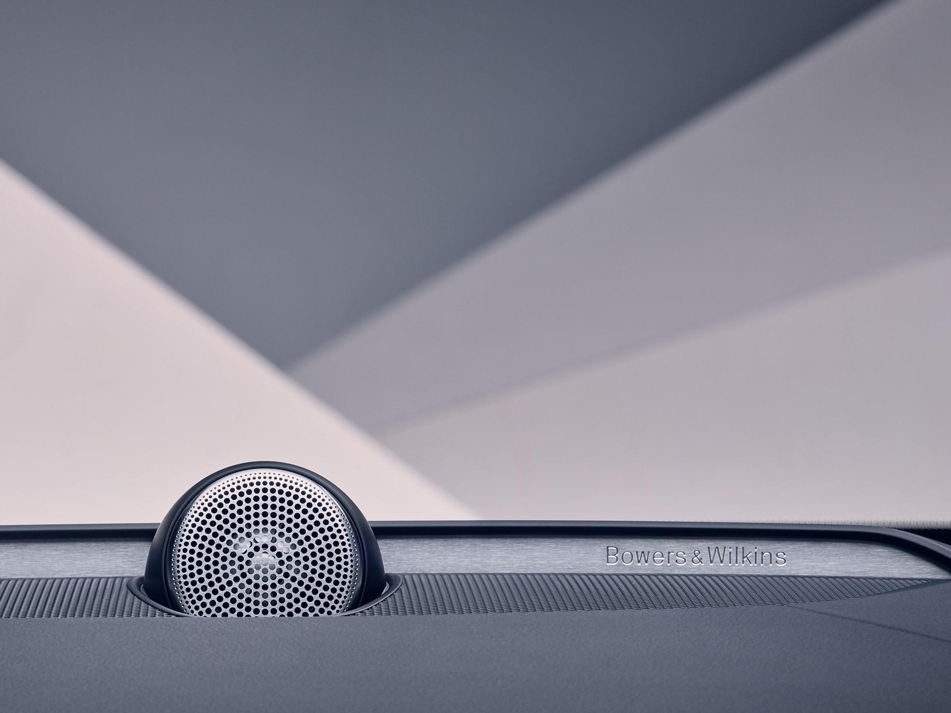 Bowers & Wilkins speakers inside a Volvo
